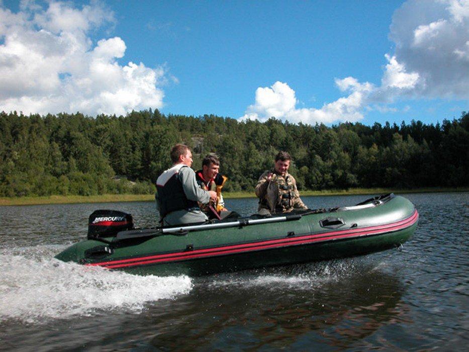 резиновые лодки с мотором на одного